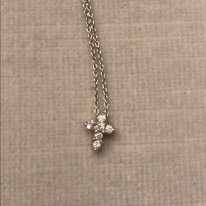 Roberto Coin Tiny Treasures Diamond Cross